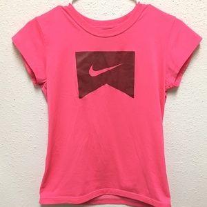 Nike In pink short sleeve top